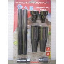 Bộ vòi phun nước Minjiang bé size S