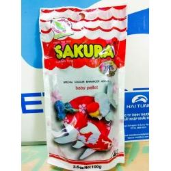Thức ăn Sakura 28% 100g