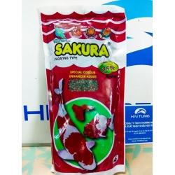 Thức ăn cá Sakura 35% 250g