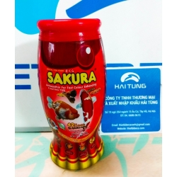 Thức ăn cho cá vàng, cá chép Sakura Extra Gold 50g, 42% Protein