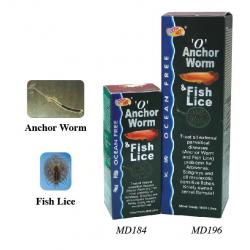 Thuốc trị trùng mỏ neo, rận cho Sam, Cá rồng - O ' Anchor Worm & Fish Lice